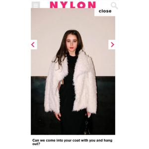 Photo by Atisha Paulson of Nylon Magazine